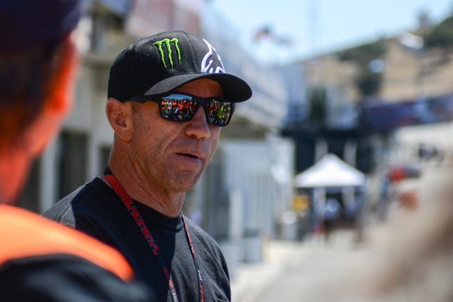 Q&A: Randy Mamola Talks About the MotoGP Season So Far randy mamola day of stars laguna seca jensen beeler 635x423
