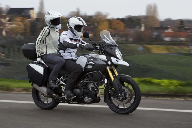 58 Hi Res Photos of the 2014 Suzuki V Strom 1000 2014 Suzuki V Strom 1000 action 04 635x423