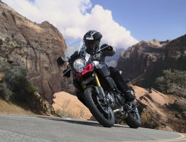 58 Hi Res Photos of the 2014 Suzuki V Strom 1000 2014 Suzuki V Strom 1000 action 101 635x485