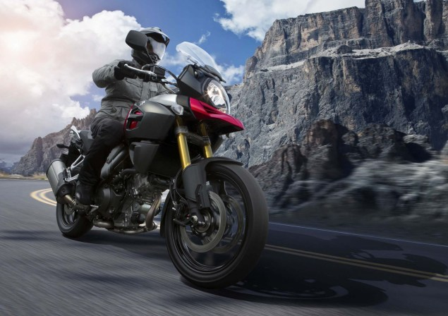 58 Hi Res Photos of the 2014 Suzuki V Strom 1000 2014 Suzuki V Strom 1000 action 19 635x448