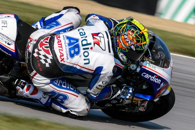 MotoGP: Vacancy in Cardion AB as Shoulder Injury Sidelines Karel Abraham for the Rest of the 2013 Season karel abraham ab cardion indianapolis jensen beeler 635x423