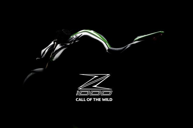 2014 Kawasaki Z1000 Debuting at EICMA 2014 kawasaki z1000 teaser 635x423