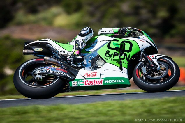 Rating the Riders of MotoGP: Alvaro Bautista – 7/10 Friday Phillip Island MotoGP 2013 Scott Jones 11 635x423