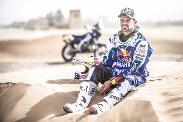 Cyril Despres Talks About Yamaha & The Dakar Rally Cyril Despres Yamaha Racing Dakar Rally 08 635x423