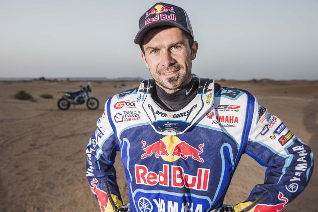 Cyril Despres Talks About Yamaha & The Dakar Rally Cyril Despres Yamaha Racing Dakar Rally 09 635x423