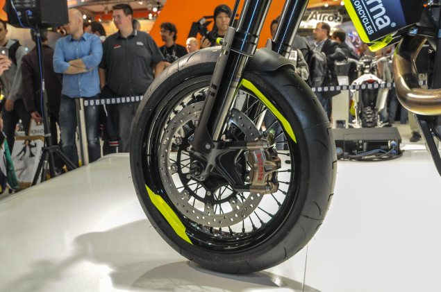 Photos: Husqvarna 701 Concept   A Future Supermoto? Husqvarna 701 Concept EICMA 9 635x421