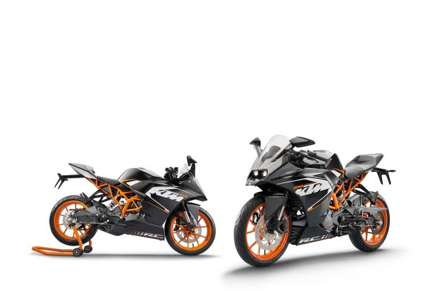 2014 KTM RC200 & KTM RC125    The More the Merrier KTM RC125 KTM RC200 635x423