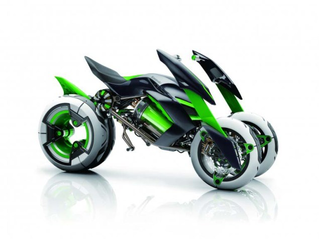 Kawasaki J Concept   A Green Outlook on the Future Kawasaki J Concept 01