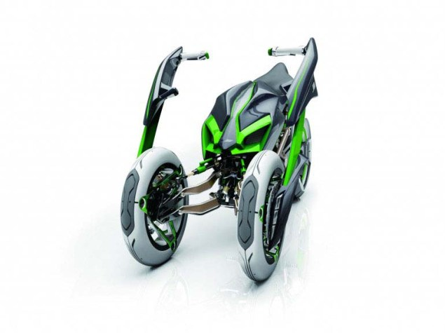 Kawasaki J Concept   A Green Outlook on the Future Kawasaki J Concept 02