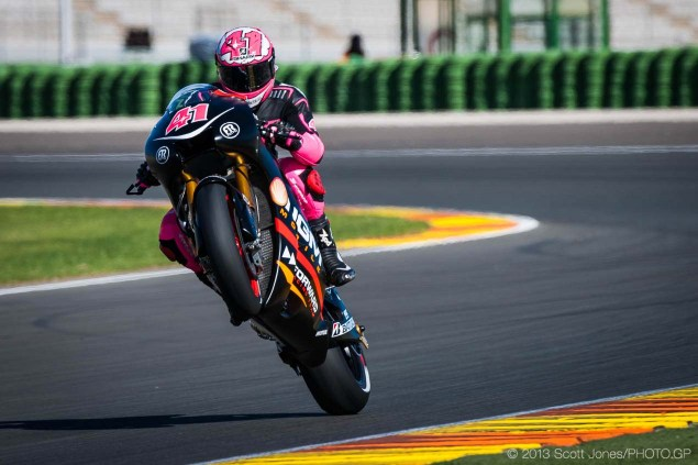 FTR Denies Financial Problems with Forward Racing Tuesday Valencia MotoGP Test Scott Jones 07 635x423
