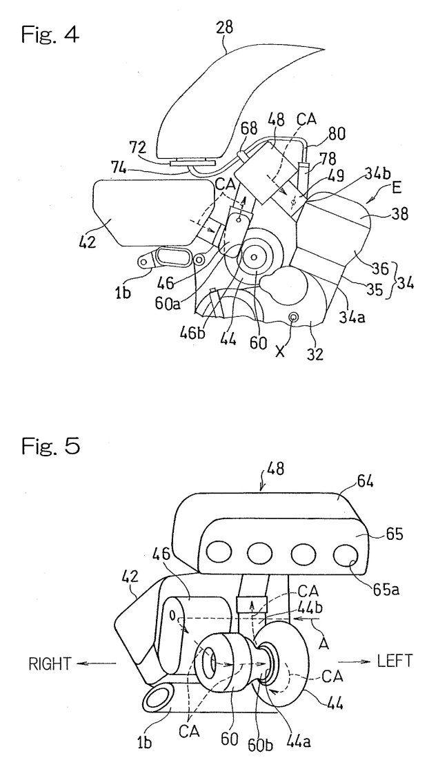 More on Kawasakis Supercharged Motorcycle Engine Kawasaki supercharged motorcycle engine patent drawings 04 635x1111