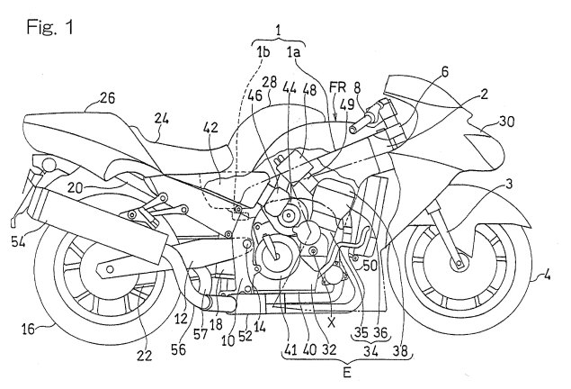 More on Kawasakis Supercharged Motorcycle Engine Kawasaki supercharged motorcycle engine patent drawings 08 635x432