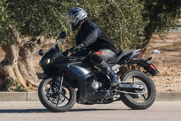 Triumph Daytona 250 Caught Testing Triumph Daytona 250 spy photo 635x423