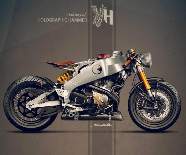 Buell Firebolt XB12R Concept by Holographic Hammer buell firebolt xr12 holographic hammer