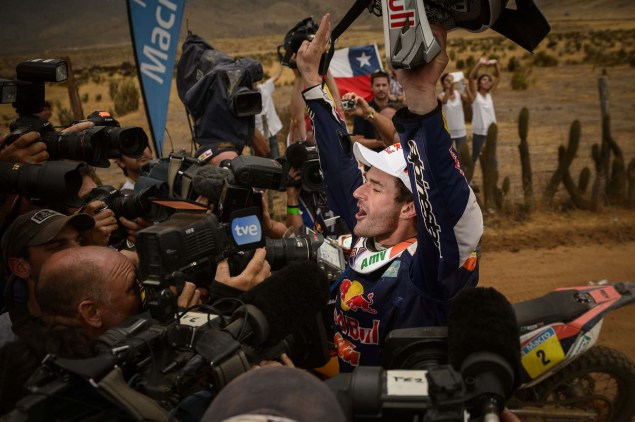 Marc Coma Takes His Fourth Career Dakar Rally Victory Marc Coma Dakar Rally KTM 32 635x422