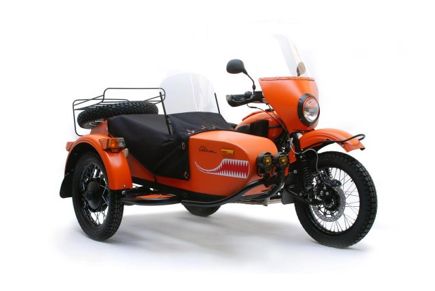 Half of Ural Motorcycles Sold in 2013 Came to America Ural Yamal Limited Edition 635x425