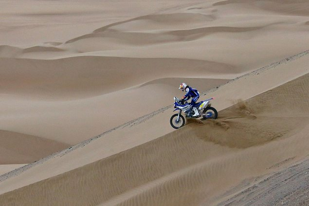 Dakar Rally – Stage 11: Yamaha Takes Days Top Honors cyril despres dakar rally yamaha racing1 635x423