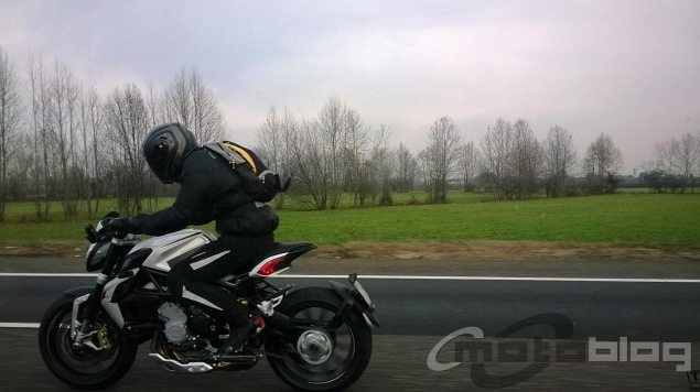 MV Agusta Dragster 800 Spotted in the Wild mv dragster 800 spy photo motoblog 635x356