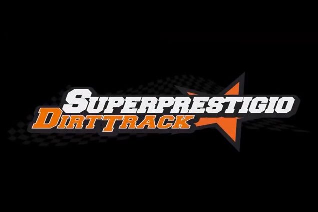 Countdown to the Superprestigio: Marc Marquez Goes Training with Brad The Bullet Baker superprestigio dirt track logo 635x423