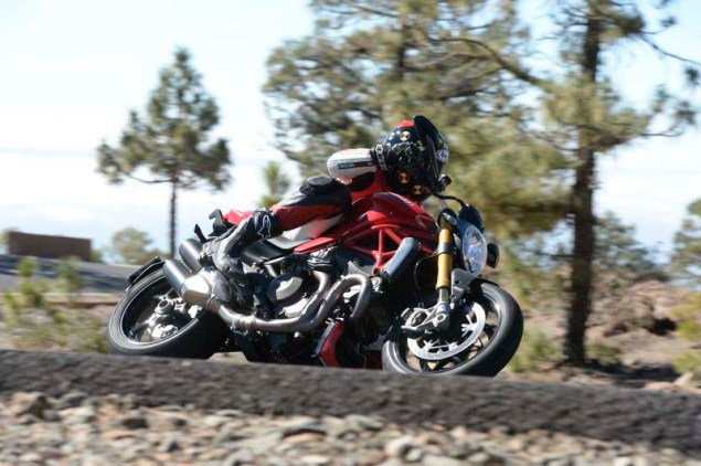 Ride Review: Ducati Monster 1200 S Ducati Monster 1200 S review Iwan van der Valk 04