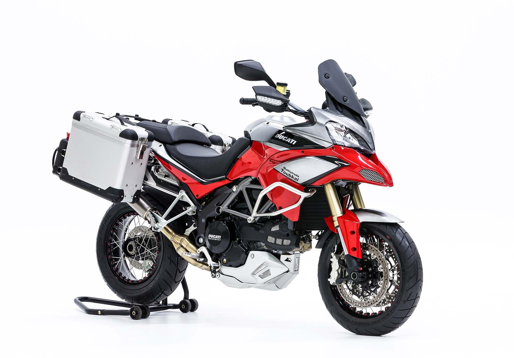 Ducati Hypermotard Adventure Bike