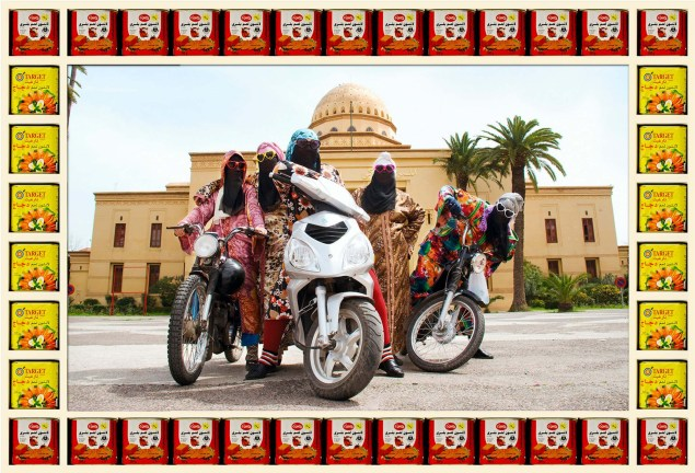 Kesh Angels: The Fierce Females of Morocco Fesh Angels Morocco biker chicks 11 635x432