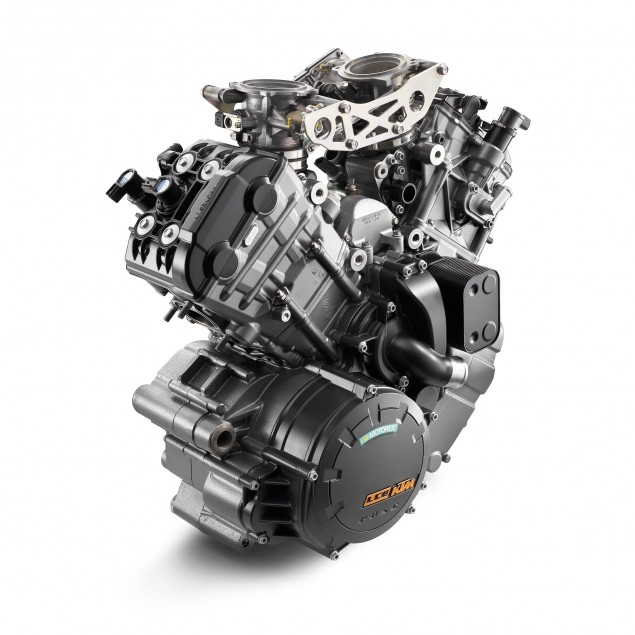 KTM Considering 500cc & 800cc Motorcycles in India? ktm lc8 v twin engine 635x635