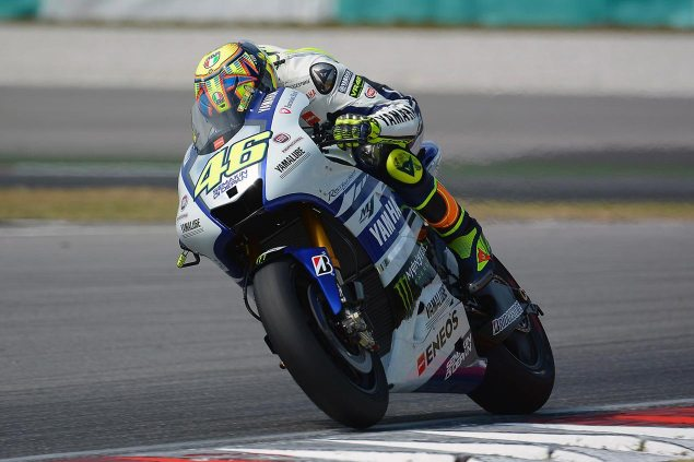 MotoGP Sepang Test   Day 1 Summary: A Fast Rossi, A Fast Open Yamaha, & A Slow Black Honda valentino rossi motogp sepang yamaha racing 635x423