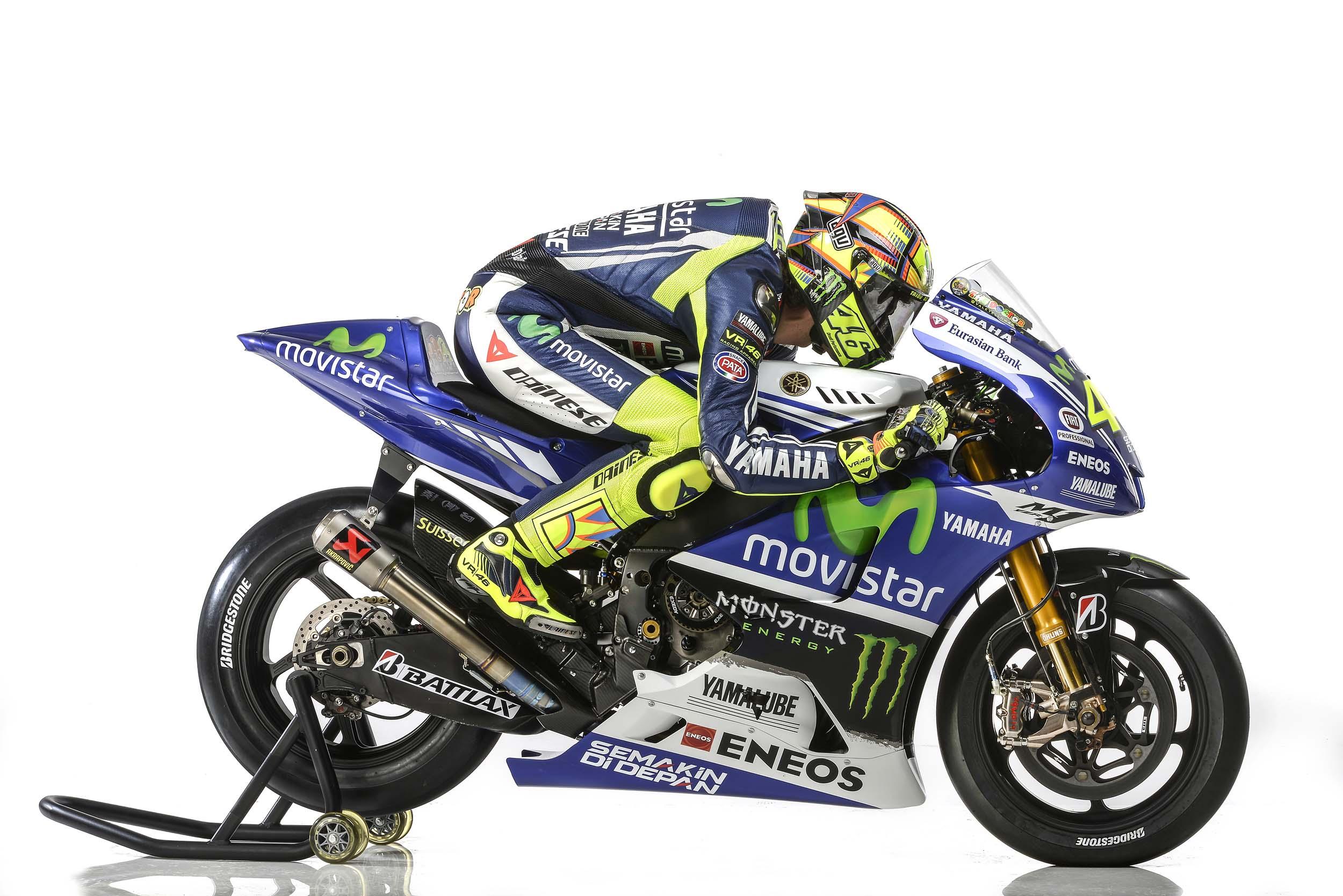 Movistar Yamaha 2014 MotoGP Livery Revealed - Asphalt & Rubber