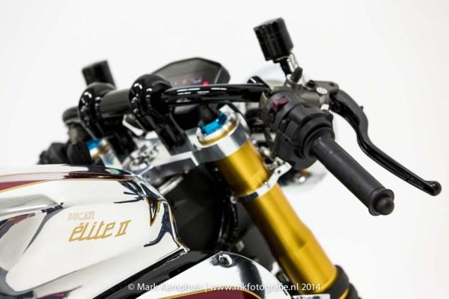Ducati Elite II Café Racer by Moto Puro Ducati Elite II Cafe Racer Moto Puro 17 635x423