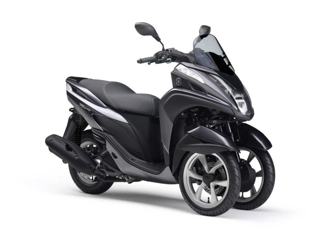 Yamaha Tricity   A Three Wheel Leaning Scooter with CVT Yamaha Tricity LMW scooter 06 635x475