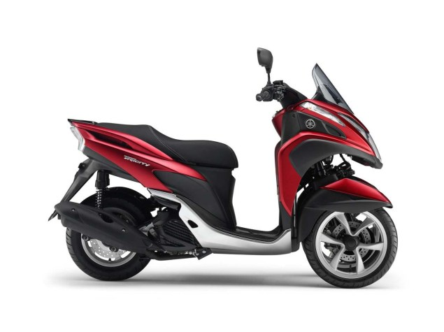 Yamaha Tricity   A Three Wheel Leaning Scooter with CVT Yamaha Tricity LMW scooter 13 635x475
