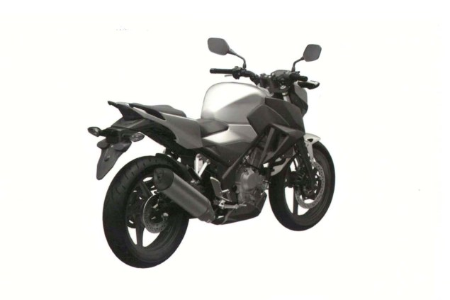 Honda CB300F Single Cylinder Spotted in Trademark Docs? honda cb300f cb250f trademark 06 635x423