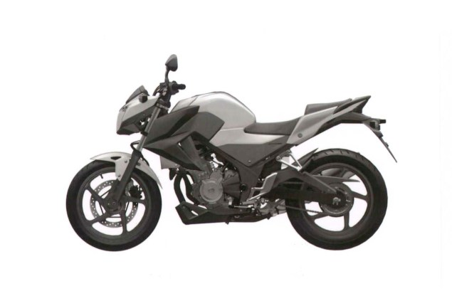Honda CB300F Single Cylinder Spotted in Trademark Docs? honda cb300f cb250f trademark 07 635x423