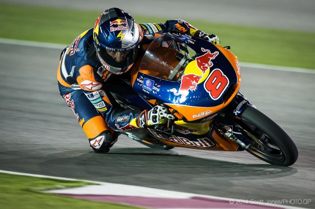 Trackside Tuesday: The Winning Personality of Jack Miller 2014 MotoGP 01 Qatar Sunday 0288 635x422