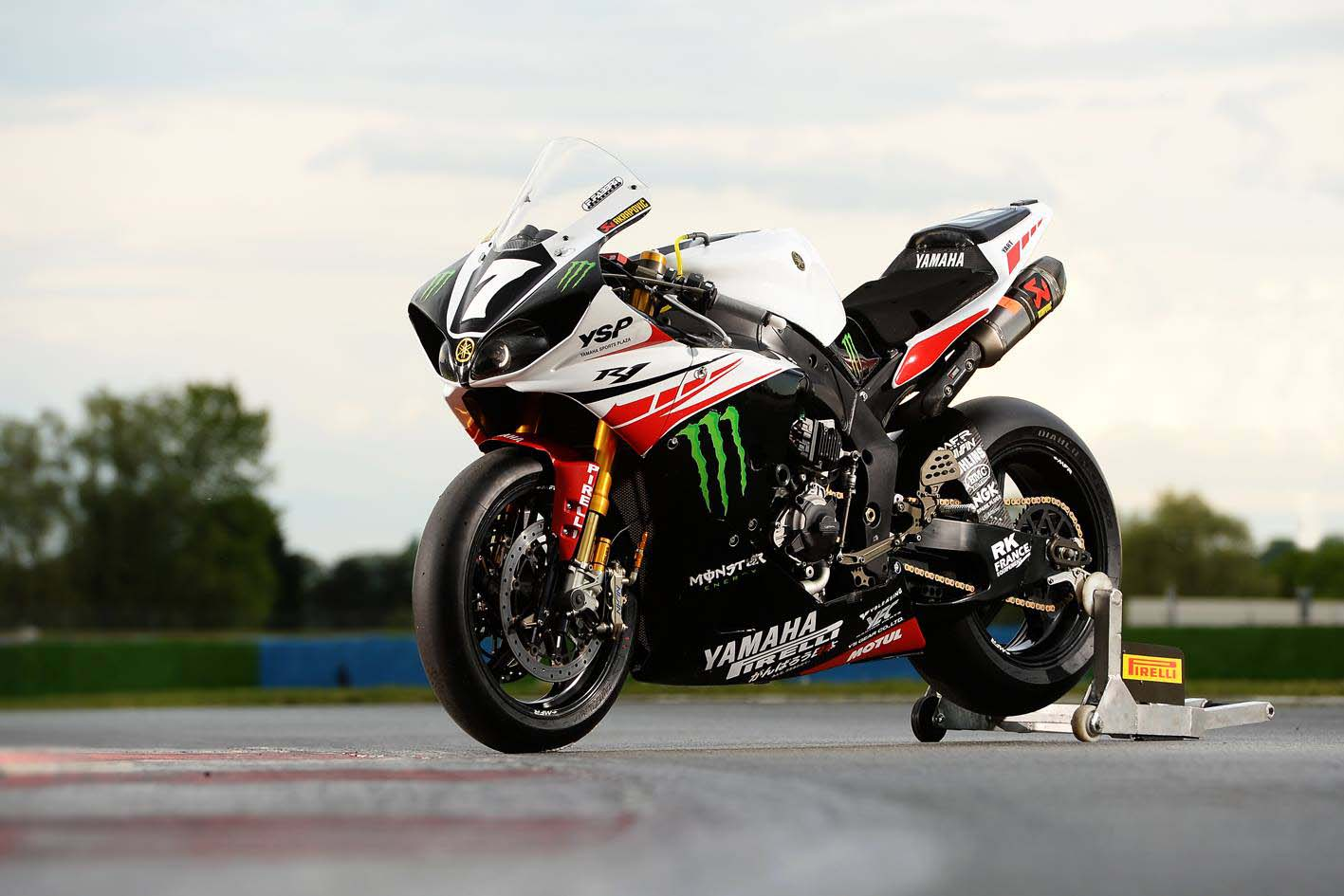 2014 yamaha yzf r1 endurance race bike by yart asphalt for Yamaha r1 2014