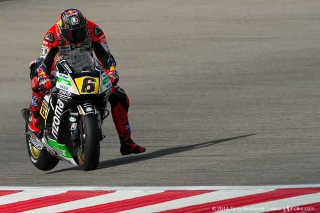 MotoGP: Stefan Bradl Confirmed at Forward Racing for 2015 Living the Dream Tony Goldsmith MotoGP Austin 14 635x423