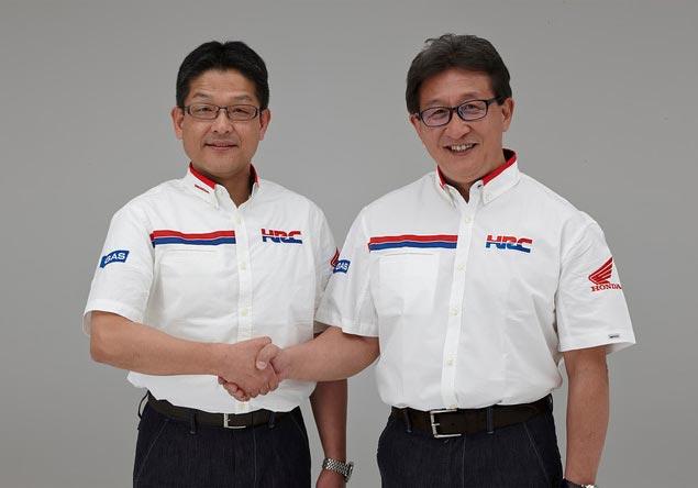 Yoshishige Nomura Replaces Tetsuo Suzuki at HRC Yoshishige Nomura Tetsuo Suzuki HRC President