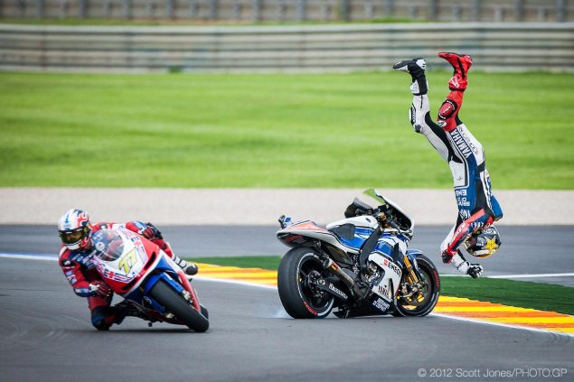 2014 April Fools Motorcycle Pranks Round Up jorge lorenzo valencia motogp scott jones 635x423