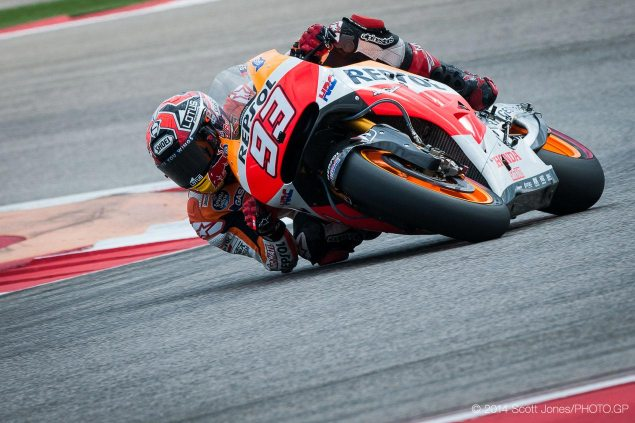 MotoGP: Qualifying Results from Austin marc marquez repsol honda motogp cota scott jones 635x423