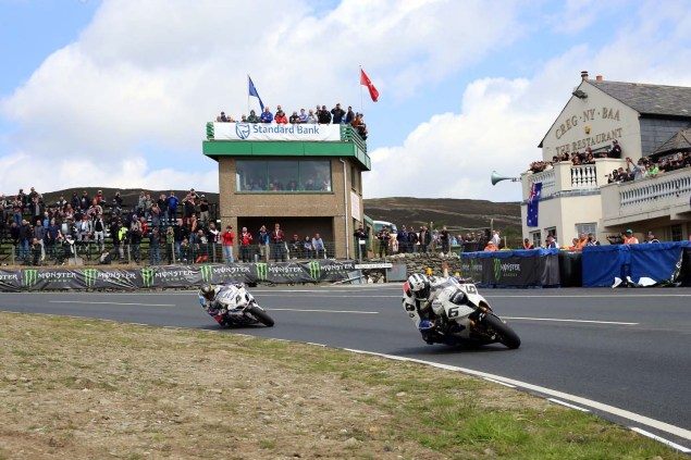 IOMTT: Creg ny Baa with Richard Mushet 2014 Isle of Man TT Creg ny Baa Richard Mushet 16 635x423