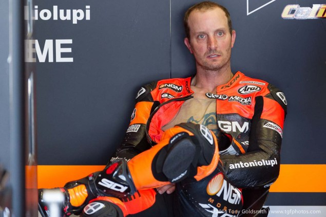 MotoGP: Forward Racing Boss Denies Reports That Colin Edwards Will Quit Racing after Jerez Friday Jerez Spanish GP Tony Goldsmith 24 635x422