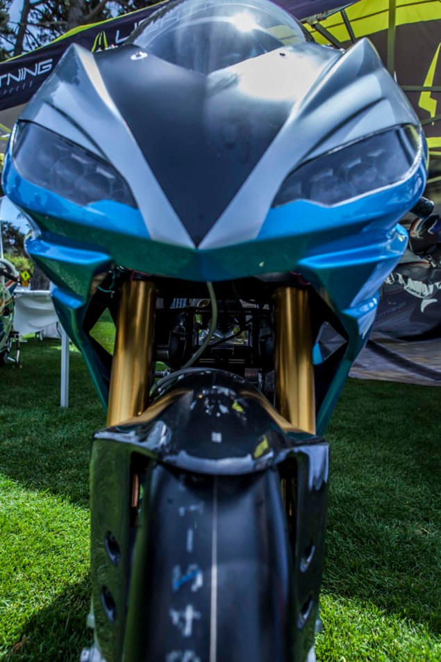 Lightning Motorcycles LS 218 Debuts at Quail Lodge Lightning Motorcycles LS 218 Quail Lodge Bryan Delohery 03 635x952