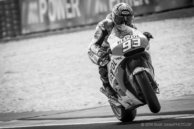 Marc Marquez Scott Jones Le Mans MotoGP