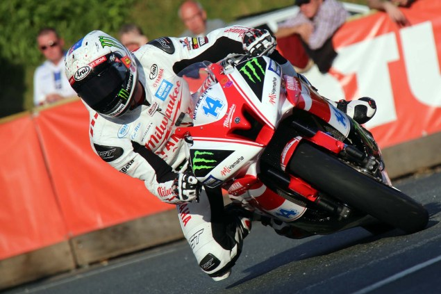 IOMTT: Quarterbridge with Richard Mushet Quarterbridge Isle of Man TT 2014 Richard Mushet 07 635x423