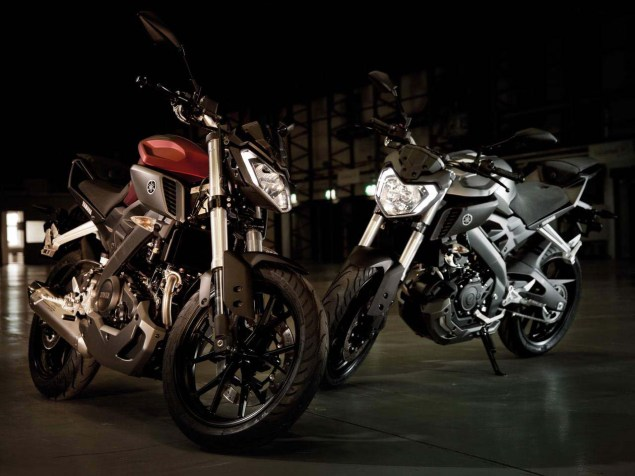 Yamaha MT 125   Europe Gets Another MT  Yamaha MT 125 06 635x476