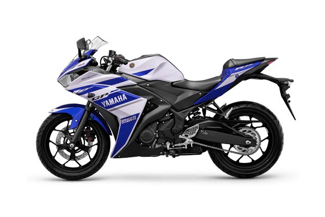 Yamaha YZF R25 Debuts in Indonesia Yamaha YZF R25 Blue
