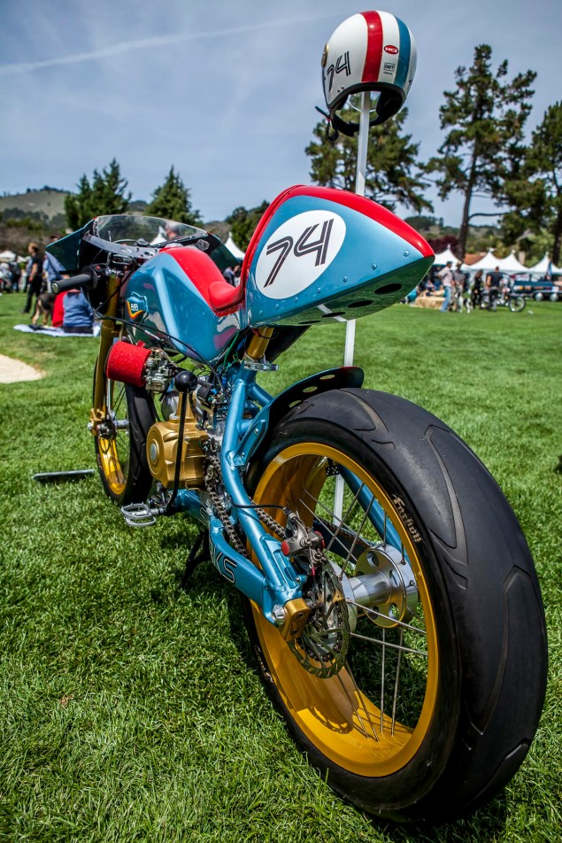 At the Sixth Annual Quail Motorcycle Gathering quail lodge gathering round 3 8 635x952