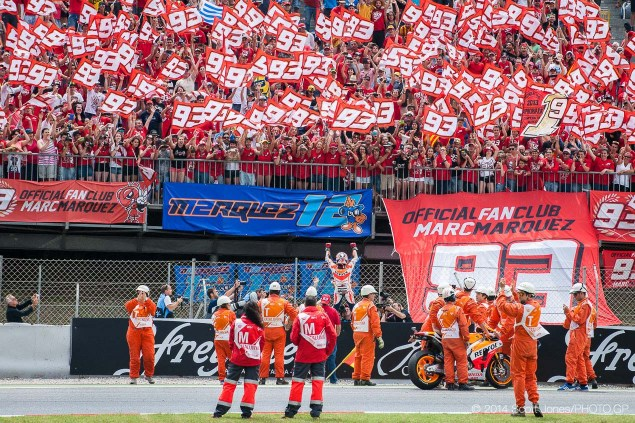 By The Numbers: What Marc Marquez Needs to Become the MotoGP World Champion at Motegi 2014 Catalan GP MotoGP Sunday Scott Jones 09 635x423