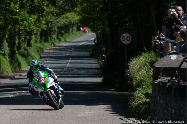 IOMTT: Ballacraine with Tony Goldsmith 2014 Isle of Man TT Ballacraine Tony Goldsmith 02 635x422